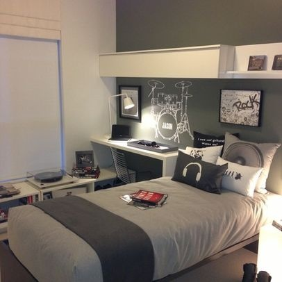Bedroom Photos Teen Boy Design Ideas, Pictures, Remodel, and Decor