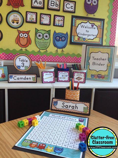 Classroom Decor On A Budget ~ Best owl theme classroom ideas on pinterest