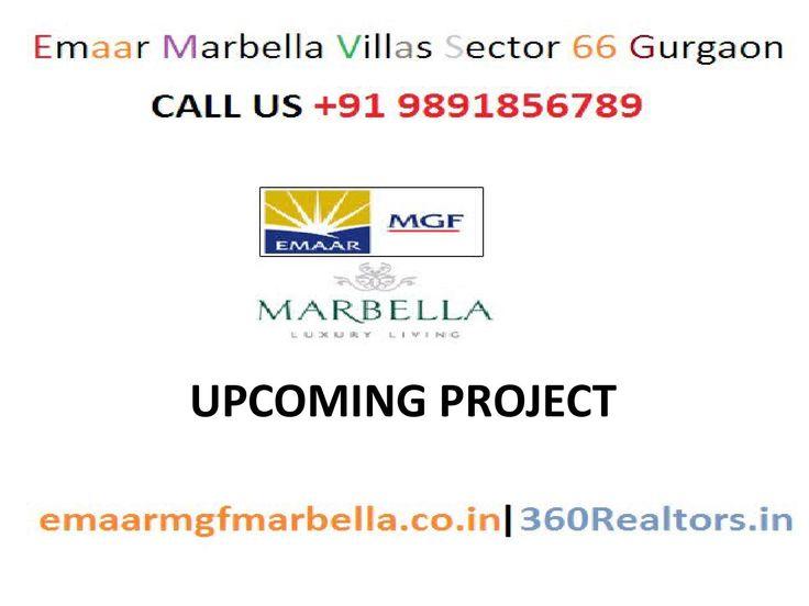 Golf Course Road – Emaar MGF Marbella Villas CL9891856789!! Upcoming Project  9891856789 @ Best Deal Emaar Marbella Villas Sector 66 Dwarka Expressway Gurgaon. Emaar MGF Marbella Villas Offering 4 BHK Villas (Belleza)/5 BHK Villas (Belinda) Gurgaon  MORE DETAILS VISIT – http://www.emaarmgfmarbella.co.in