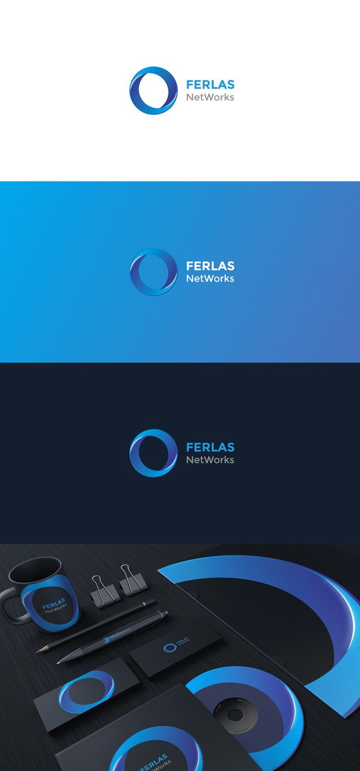 Another visual identity proposition for Ferlas NetWorks