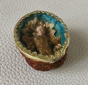 RARE Noix Reliquaire MINIATURE JESUS Cire Fin XIXè Antique Nut Reliquary 19thC | eBay