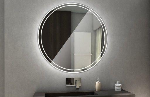 Lustro Podświetlane Led 100cm Do łazienki Wenezia Woodlove