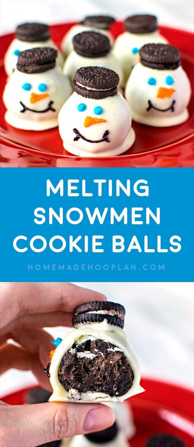Melting Snowman Cookies Country Kitchen