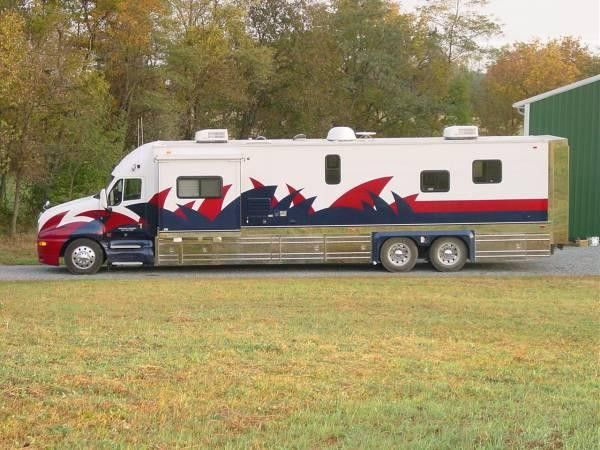 11 best toter images on pinterest motor homes motorhome and ultra custom toterhomes custom truck toterhomes peterbilt toter sciox Image collections