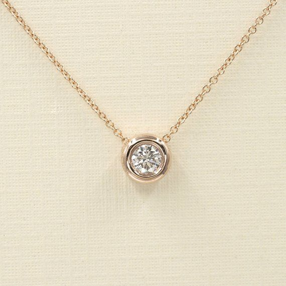 2 Ct Round Emerald Necklace Women Jewelry 14K White Gold Plated Free Shipping