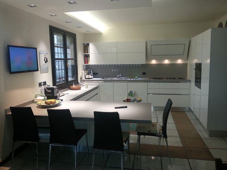 La cuisine Oyster de Gabriele & Marinella   Veneta Cucine