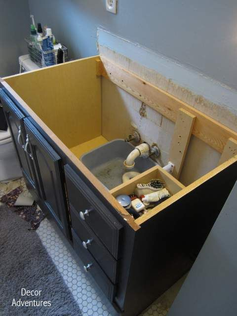 How to Remove a Countertop From a Vanity + Bathroom Misadventures - Best 20+ Bathroom Vanity Tops Ideas On Pinterest Rustic Bathroom