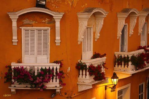 Balcones coloniales