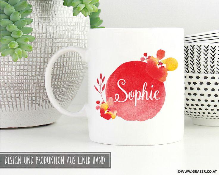 Becher & Tassen Tasse personalisiert mit Name 3