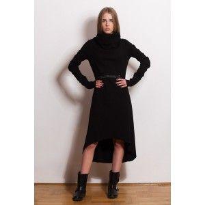 Glamojuice by M.R.Y. - czarna sukienka maxi