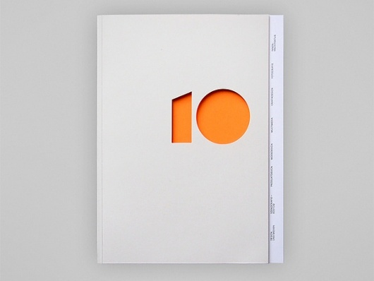 yearbook 10 by britta siegmund via behance network #diecut #10 #orange #yearbook #behance #BrittaSiegmundDesign Inspiration, Logo Design, Britta Siegmund, Booklet Design, Graphics Design, Book Design, Design Editorial, Cut Out, Editorial Design