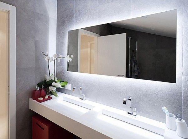 Contemporary Apartment 17 Mirror BathroomBathroom