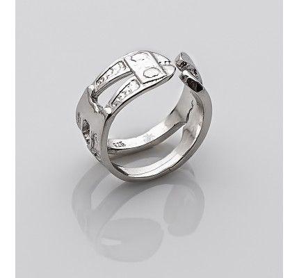 Δαχτυλίδι κόφτης της TOOLS by xatziiordanou #ring #cutter #silver #man