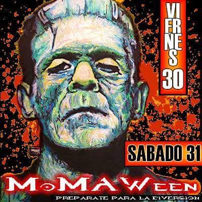 MoMAWeeKEnd....MoMAWEeN...este fin de semana en Moma Bar la diversion sera del inframundo....