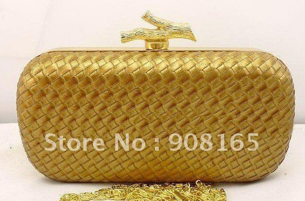 new striped fashion Evening Shoulder clutch bag  women noble purse free shipping wholesale US $30.00