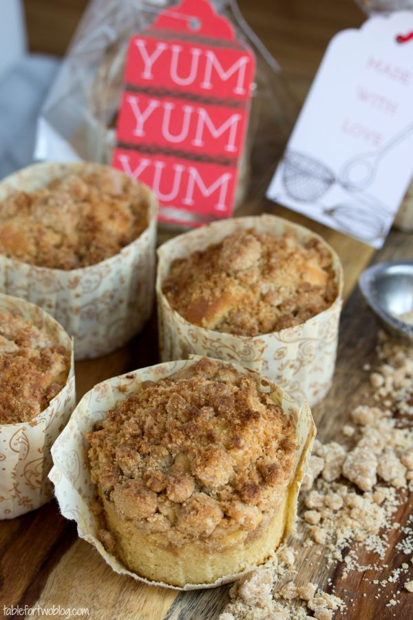 Cooks Illustrated: New York-Style Coffee Cake Crumb Muffins via Table For Two blog. {..for those who like LOTS of crumb topping!}
