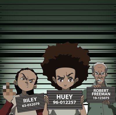 the boondocks- technically this show is not an anime, but boy do I love this show! it deserves its own board tbh