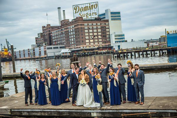 Baltimore Museum of Industry Fall Wedding || Pete Redel Photography || Charm City Wed || www.charmcitywed.com