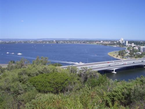 View from Kings Park Perth, Western Australia