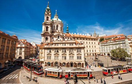 Praha - Malostranské náměstí | Prague Malostranska square