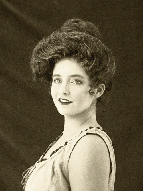 haircuts for faces the gibson hair style 1800 s to 1920 s regency 1112