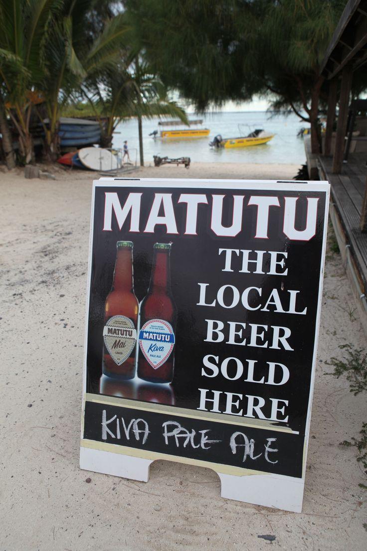 Matutu Beer, the finest local craft beer, Rarotonga - copyright www.belindabrownphotography.co.nz