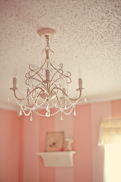 Nursery I L O V E Nurseries The Chandelier Baby Girls
