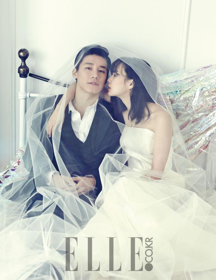 Yoon Seung Ah and Kim Moo Yul
