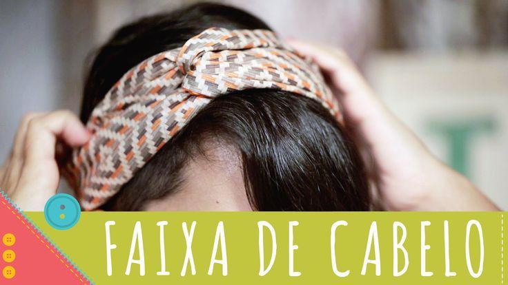 Aprenda a costurar passo a passo uma faixa para cabelo muito linda. CLIQUE EM MOSTRAR MAIS para ver a lista de materiais e baixar o molde! ♥ Quer fazer uma p...