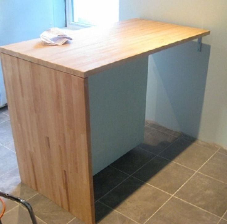 Fabrica una barra para la cocina y disfruta de espacio extra for Barras de cocina para espacios pequenos