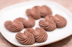 Венское песочное печенье с какао