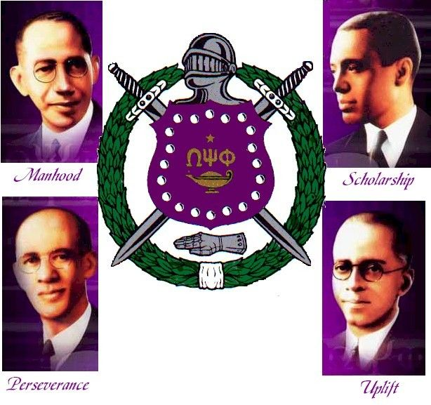 The four founding fathers of Omega Psi Phi were all great men of prestige. Getting the fraternitiy started had its up and downs, but these men set high standards for other members to follow.-Google Image Result for http://lambdaphi-oppf.org/site/wp-content/uploads/2011/03/Founders_With_Shield.jpg