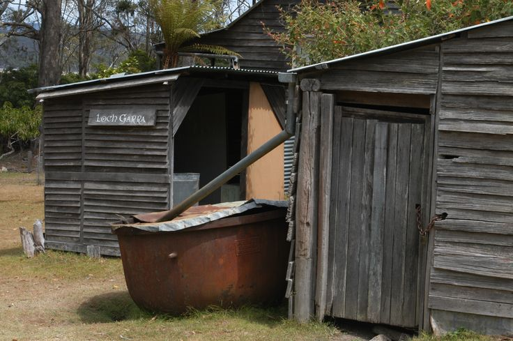 Davis whaling station Twofold Bay Eden, NSW, Australia, Ceased operation 1929.