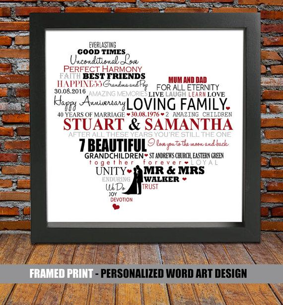 Personalized+40th+wedding+anniversary++ruby+wedding+by+BlingPrints