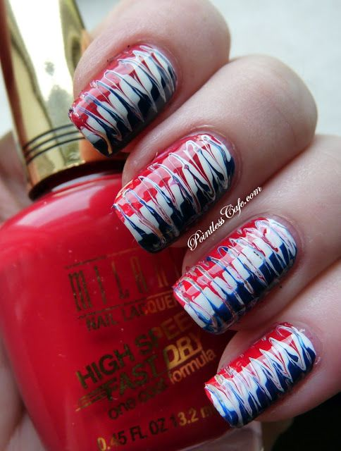Independence Day Mani - Happy July 4th!
