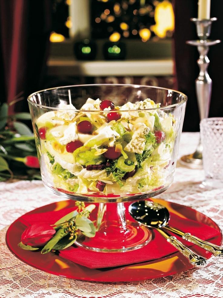 Hedelmäinen juustosalaatti | K-ruoka #joulu