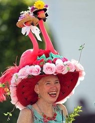 @Deedee Palazzolo why did you not have this hat already for my crazy hat day