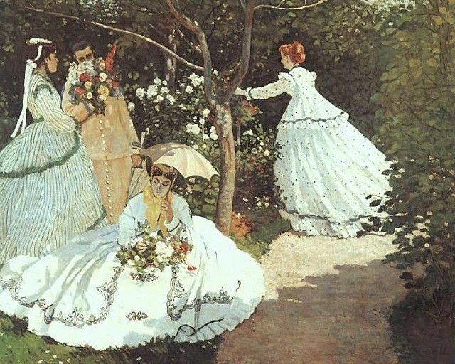 """""""Γυναίκες στον κήπο"""", Κλωντ Μονέ"""