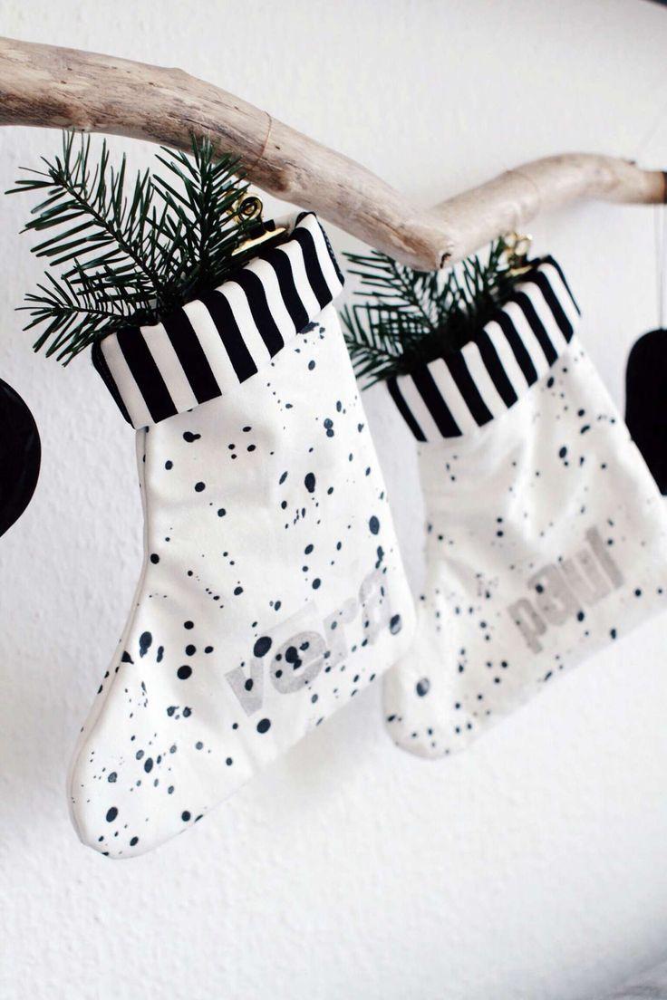 die besten 25 diy nikolausstiefel ideen auf pinterest weihnachtsstiefel nikolausstiefel. Black Bedroom Furniture Sets. Home Design Ideas