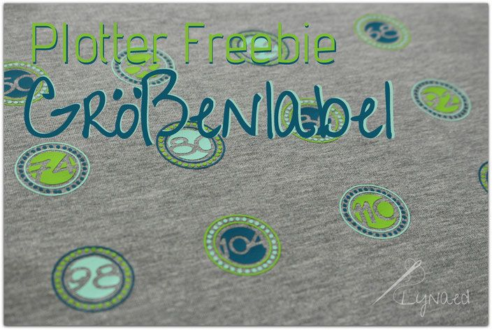 Plotter Freebie - Größenlabel