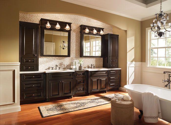Bathroom cabinets cabinets of denver serving evergreen for Bertch kitchen cabinets