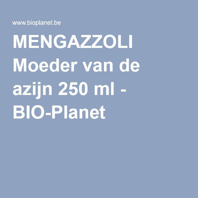 MENGAZZOLI Moeder van de azijn 250 ml - BIO-Planet
