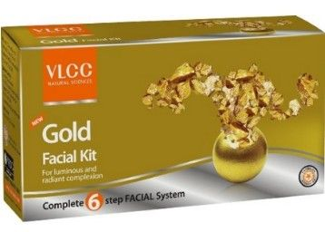 VLCC Gold Facial Kit 60g at Lowest Price at Rs 180 Only - Best Online Offer