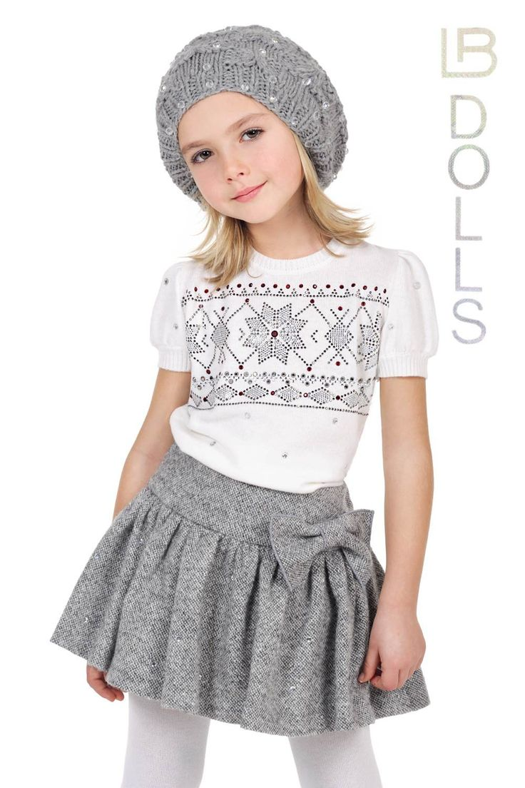 ALALOSHA: VOGUE ENFANTS: Laura Biagiotti DOLLS FW2013 GREY