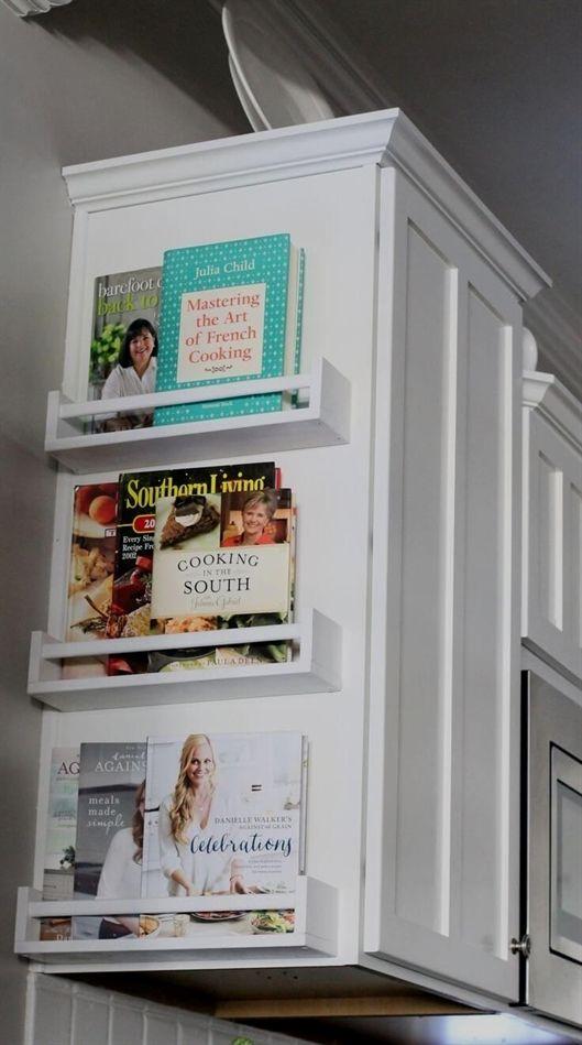 Kitchen Space Cookbook Cabinet End Shelves Kitchendesign House