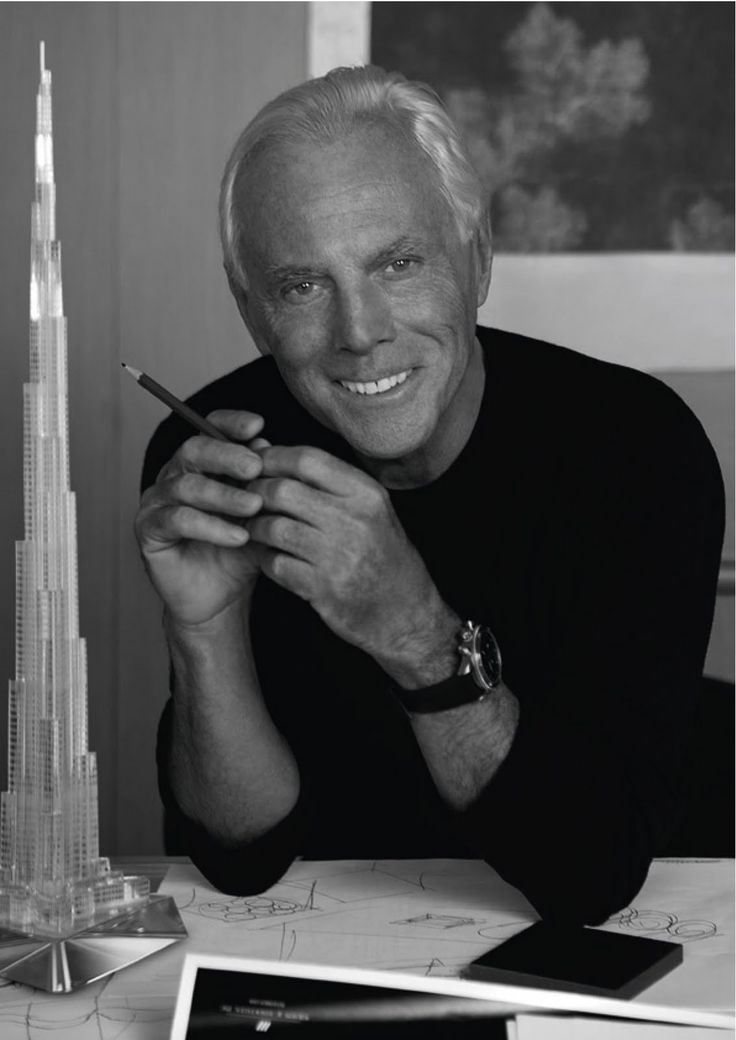 Italian fashion designer Giorgio Armani has been ruling fashion world with graceful outfits, elegant cosmetics, perfumes, eye wear and menswear since 1975.