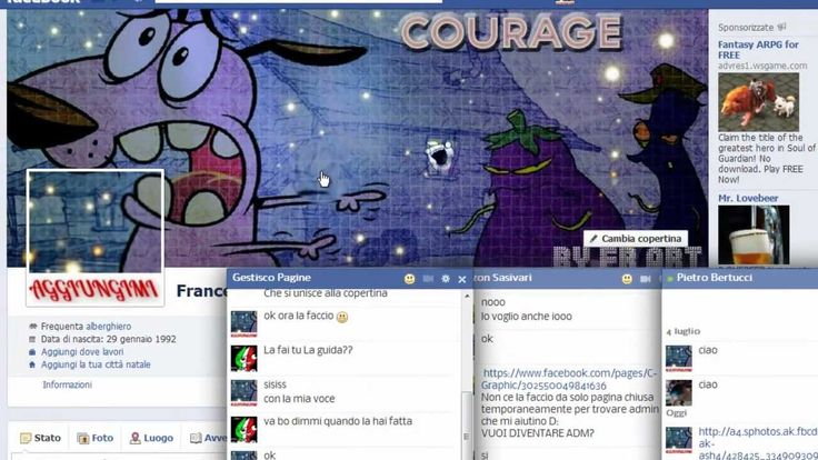 #Facebook triks: Come Fare Immagine di copertina Abbinata a Quella del Profilo