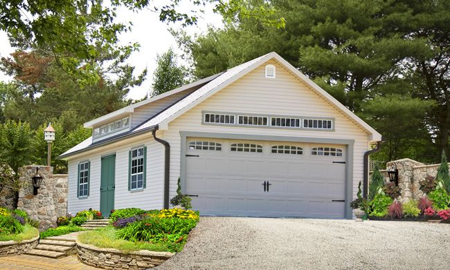 Detached 3 Car Garages Amish Built Long Island Baltimore: 10 Best Two Car Garages PA, NY, NJ, CT, DE, MD, VA Images