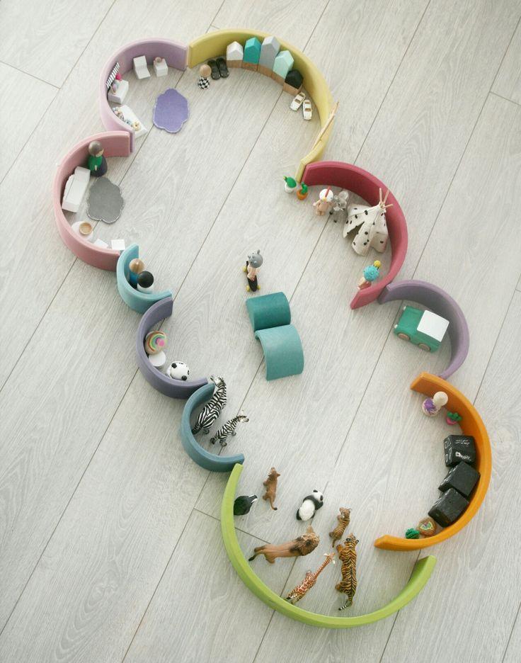 Grimms rainbow stacker