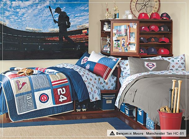 Love The Baseball Theme Boys Bedroom Decor Boy Design Designs